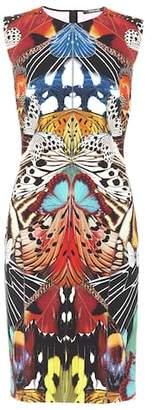 Roberto Cavalli Printed jersey dress