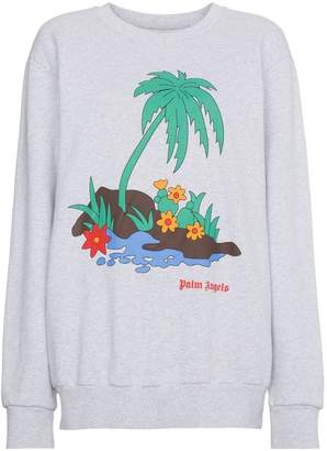 Palm Angels Palm Print Sweatshirt