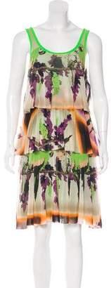 Jean Paul Gaultier Soleil Printed Knee-Length Dress