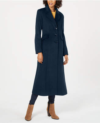 Forecaster Notched-Collar Maxi Walker Coat
