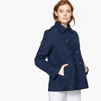 La Redoute COLLECTIONS Buttoned Pea Coat