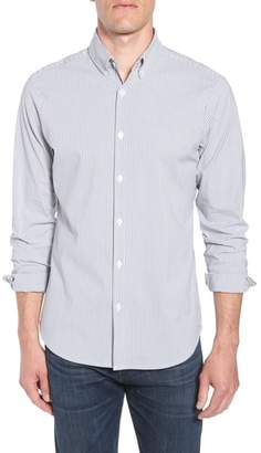 Mizzen+Main Yesler Trim Fit Seersucker Sport Shirt