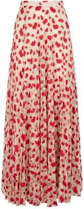 Giambattista Valli Embroidered Lace Maxi Skirt