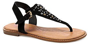 Sugar Ladybug T-Strap Sandals