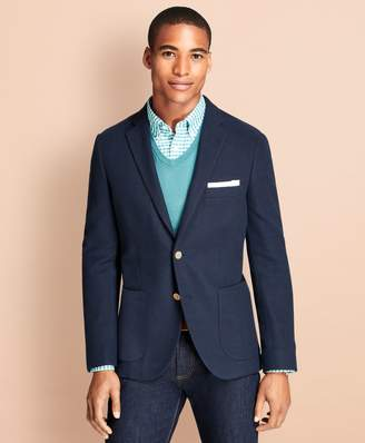 Brooks Brothers Honeycomb-Knit Cotton Blazer
