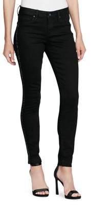 Jessica Simpson Plus Kiss Me Super Skinny Embellished Jeans