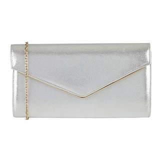 Lotus Nina ULG017 Metallic Silver Clutch Bag 2993901ccc8fb