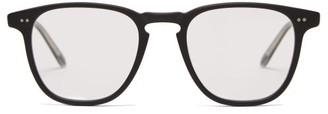 Garrett Leight Brooks 47 Square Frame Glasses - Mens - Black