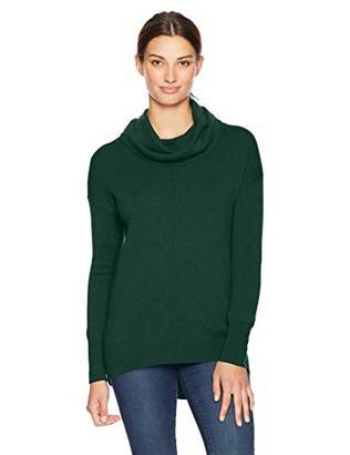 Lark & Ro Women's Cowl Neck Cashmere Sweater