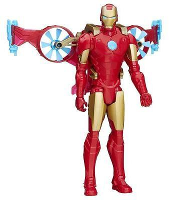 Marvel Titan Hero Series Iron Man With Hover Pack