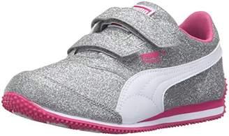 Puma Girls' Steeple Glitz Glam V INF Running Shoe