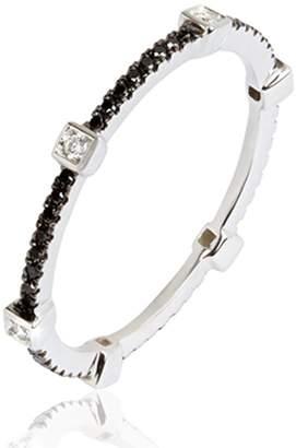 Black Diamond Annoushka Pavilion Eternity Ring