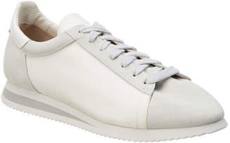Brunello Cucinelli Suede-Trim Sneaker