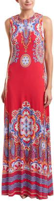 Hale Bob Lace-Up Maxi Dress