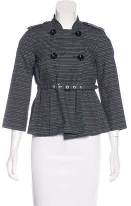 Marc by Marc Jacobs Belted Tweed Jacket