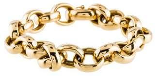 Monica Rich Kosann 18K Rosalind Link Bracelet