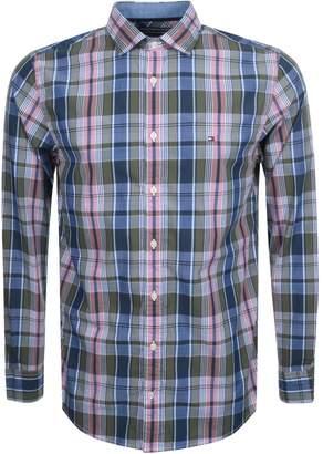 Tommy Hilfiger Yelp Check Shirt Green