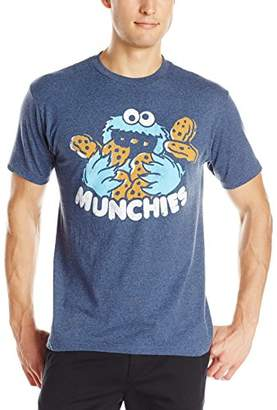 Sesame Street Men's Cookie Munchies Logo T-Shirt