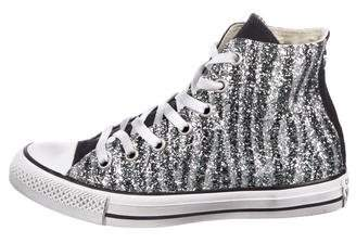 Converse Glitter All Star High-Top Sneakers