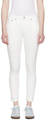 Acne Studios Bla Konst White Climb Jeans