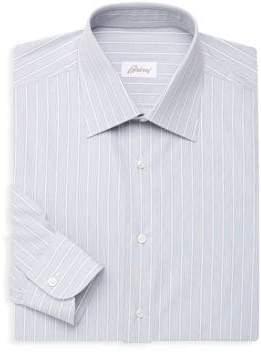 Brioni Classic-Fit Long Sleeve Stripe Shirt