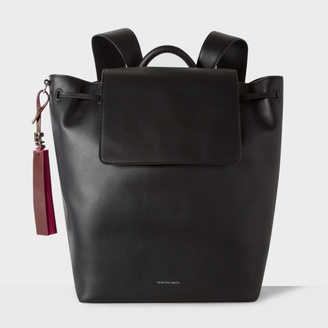 Women's Black Leather Backpack $695 thestylecure.com
