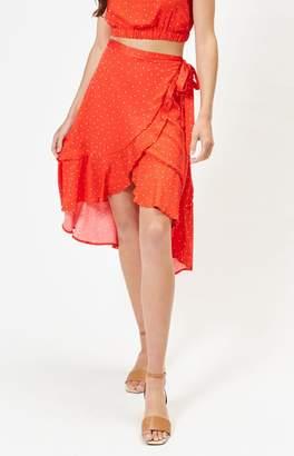 MinkPink Santorini Midi Skirt