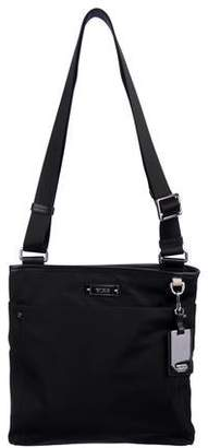 Tumi Leather-Trimmed Crossbody