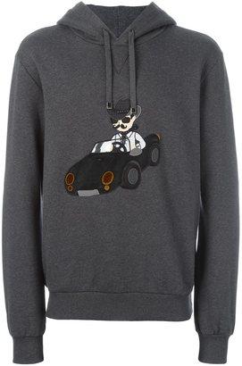 Dolce & Gabbana modern cowboy patch hoodie $1,075 thestylecure.com