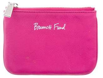 Rebecca Minkoff Leather Brunch Fund Pouch