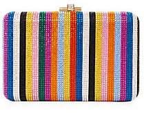 Judith Leiber Couture Women's Candy Stripe Slim Slide Clutch