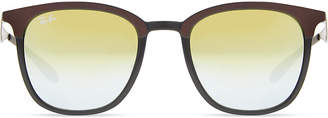 Ray-Ban RB4278 square-frame polarised sunglasses