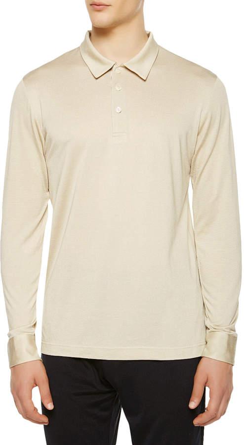 La Perla Men's Silk Way Polo Shirt