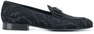 Dolce & Gabbana Lucas jacquard slippers
