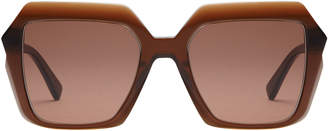 MCM Square Half Diamond Sunglasses