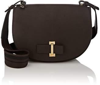 Delvaux Women's Le Mutin Leather Saddle Bag