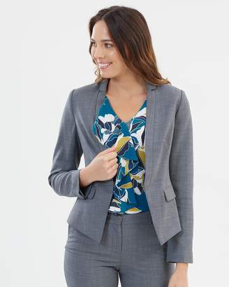 David Lawrence Connie Stretch Wool Blazer