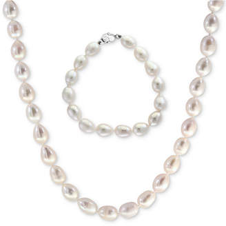 Effy Final Call by Cultured Freshwater Pearl (8-1/2mm) Strand Necklace & Bracelet Set