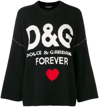Dolce & Gabbana cashmere forever jumper