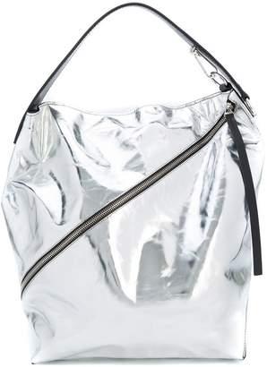 Proenza Schouler Large Metallic Zip Hobo