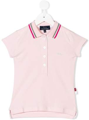 Harmont & Blaine Junior studded logo polo shirt
