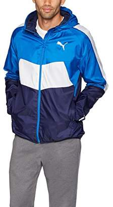 Puma Men's Essential Colorblock Windbreaker