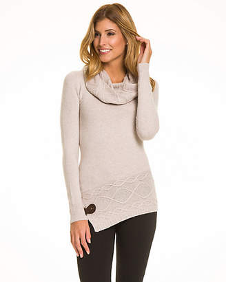 Le Château Wool Blend Cowl Neck Sweater