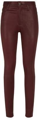 AG Jeans Farrah Leather Jeans