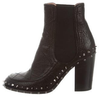 Laurence Dacade Flynn Spiked Ankle Boots $325 thestylecure.com