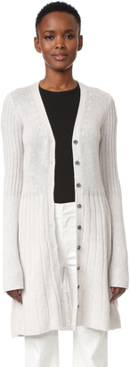Derek Lam Flared Cashmere Cardigan with Bell Sleeves $1,495 thestylecure.com
