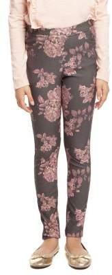 Dex Girl's Floral Printed Leggings