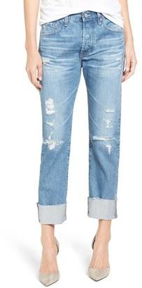 Women's Ag The Sloan Vintage Straight Leg Jeans $235 thestylecure.com