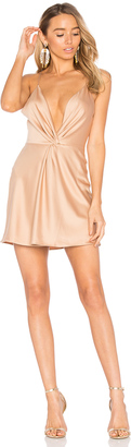 House of Harlow x REVOLVE Sharon Dress in Camel $178 thestylecure.com