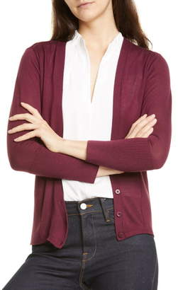 Lewit V-Neck Wool & Silk Cardigan